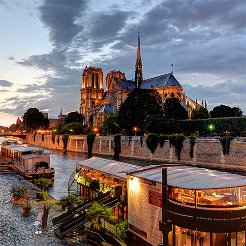 sightseeing France